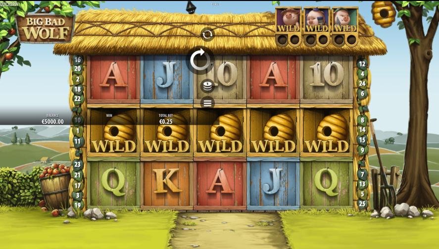 Big Bad Wolf Slot Screenshot